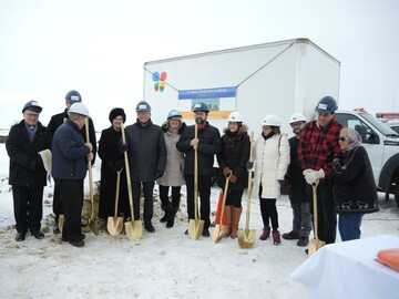View this feature story submitted by the Division highlighting Alexander First Nation's involvement in the St. Kateri Tekakwitha Academy Sod Turning.